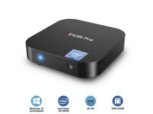 ACEPC T8 Mini Pc Windows 10 Wintel W8 pro Core Intel x5-Z8350 Win10 Home Licenced 2GB 32GB eMMC 4K/WiFi/BT4.0 Mini Computer