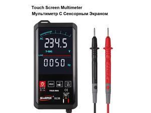 8138 Touch Screen Multimeter Automatic Digital Multimeter 6000 Counts Intelligent Scanning AC DC Measurement NCV True RMS Measurement