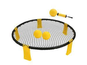 Ship from the United States-Mini Portable Volleyball Beach Volley Ball Spike Game Set Outdoor 3 Ball With Volleyball Net Training Assistance Equipment