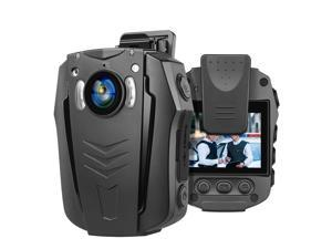 BOBLOV PD70 WiFi Body Camera 1296P Wearable Body Cameras Night Vision Camera Built-in Memory Light and Small Body with Audio Recording 170 Degree for Law Enforce or Daily Use