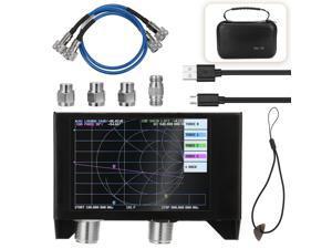 Vector Network Analyzer Kit, 4.0 Inch Screen 3G SAA-2N NanoVNA V2 Antenna Analyzer Shortwave HF VHF UHF