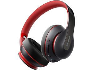 Soundcore Life Q10 Wireless Bluetooth Headphones, Over Ear, Foldable, Hi-Res Certified Sound, 60-Hour Playtime, Fast USB-C Charging, Deep Bass, Aux Input, for Travel, Online Class, Home Office