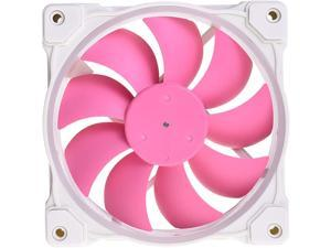 PINK Case Fan 120mm 5V 3 PIN Addressable RGB Cooling Fan MB Sync, 4 PIN PWM Speed Control Fans for Radiator/CPU Cooler/Computer Case