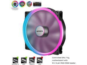 P200RGB-Hydraulic Bearing 200mm 5V RGB PWM Fan for Computer Cases,P200RGB