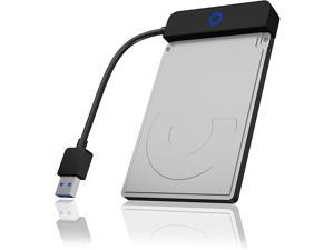 USB 3.0 to SSD / 2.5-Inch SATA Hard Drive Adapter with Blue LED Indicator Ring with USAP up to 5 Gbit/s Compatible for Windows and MacOS