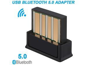 USB Bluetooth Adapter 5.0 Wireless Receiver Transfer Dongle for Laptop PC Audio Support Windows 10 8.1 8 7 XP Vista