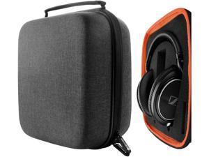 Geekria UltraShell Headphone Case for Beyerdynamic DT 880 DT 880 pro AKG K167 K540 Sennheiser HD599 HD598CS HD280PRO Headphones - Replacement Large Hard Shell Travel Carrying Bag