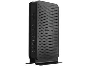 NETGEAR C3700-100NAR C3700-NAR DOCSIS 3.0 WiFi Cable Modem Router with N600 8x4 Download speeds for Xfinity from Comcast Spectrum Cox Cablevision (Renewed)