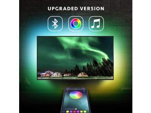 LED Strip Lights TV LED BackLight RGB LED Strip USB Powered for 24 Inch-60 Inch TV,Mirror,PC, APP Control Sync to Music, Bias Lighting, 5050 RGB Waterproof IP65 for Android iOS