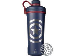 BlenderBottle Radian Insulated Stainless Steel Shaker Bottle 26oz Captain America Shield