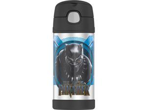 F4018BPM6 Funtainer 12 Ounce Bottle Black Panther