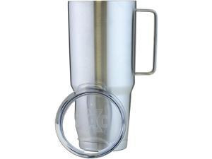 X-PAC by Double Vacuum Wall Stainless Steel Tumbler with Lid 64 Ounce Stainless Steel With Handle