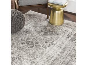 "Artistic Weavers Desta Area Rug, 710"" x 102"", Charcoal"