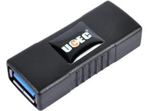 UCEC USB 3.0 Adapter - Type A Female to Female -Connector Converter Adapter - Black