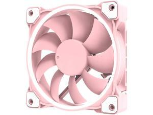 ID-COOLING ZF-12025-PINK Case Fan 120mm 5V 3 PIN Addressable RGB Cooling Fan MB Sync 4 PIN PWM Speed Control Fans for Radiator/CPU Cooler/Computer Case