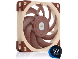 Noctua NF-A12x25 5V Premium Quiet Fan with USB Power Adaptor Cable 3-Pin 5V Version (120mm Brown)