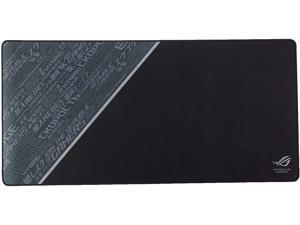 ASUS ROG Sheath Black Mouse Pad   Extra-Large Gaming Surface Mouse Pad   Pixel Precise Tracking   Anti-Fray Stitched Edges and Non-Slip Rubber Base (35.4 x 17.3 inches)