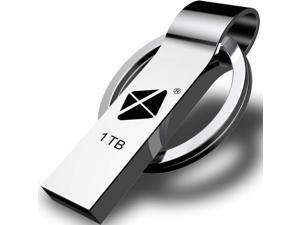 USB Flash Drive 1TB - Thumb Drive High Speed USB Drive Portable Ultra Large Storage USB Memory Stick Jump Drive Pen Drive Come with Keychain