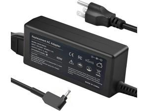 65W AC Adapter Laptop Charger for Acer Chromebook CB3-131 CB3-131-C3SZ CB3-131-C3VC CB3-131-C8GZ CB3-132-C4VV CB3-132-C9M7 CB5-132T-C8ZW CB5-132T-C1LK Power Cord