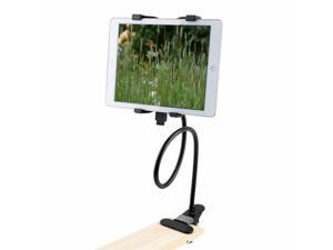 360 Rotng Desktop Stand Lazy Bed Tablet  Holder Mount With Clip For iPad Mini