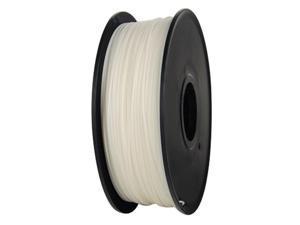 3D Printer PLA Filament 1.75mm 1KG 2.2LB Premium Wire Material Spool Roll White