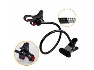 360 Rotng Desktop Stand Lazy Bed Mobiel Phone Holder Mount With Clip