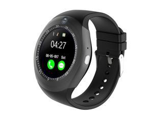 Round Touch Screen Bluetooth Smart Watch Camera Cam Unlocked GSM Phone