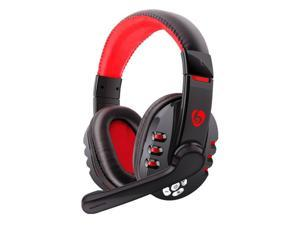 Wireless Gaming Headset Bluetooth Headphone Ear Cup Mic for Smart Phones Tablet