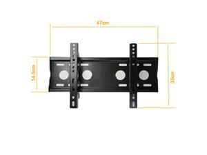 Fixed Flat TV Panel LCD Led Wall Mount Bracket 14 To 47 Inch In Up To 40Kg 88Lb