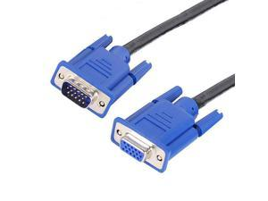 VGA SVGA Monitor Extension Cable 15Ft 3M Male to Female MF Computer LCD LED Cord
