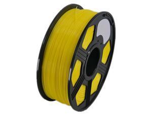 3D Printer PLA Filament 1.75mm 1KG 2.2LB Premium Material Spool Roll Yellow
