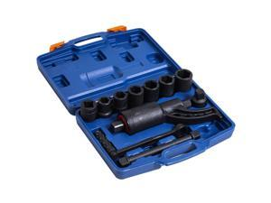 11pcs Heavy Duty Torque Multiplier Wrench Set Lugnut Remover Socket Set Labor