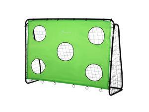Football Goal Target Goal Indoor Backyard with PE Net Best Gift