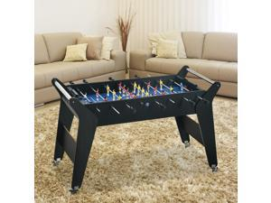 4.8ft Foosball Table Arcades Competition Sized for Kids, Adults, Indoor