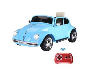 Licensed Beetle Electric Kids Ride-On Car 6V Battery Powered Toy