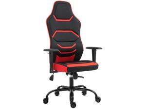 Racing Office Chair Gaming Seat, Recline with Wheels, Liftable Armrest