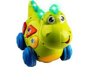 ??Talking dinosaur toy with lights sounds for children Teaching Learning gift??