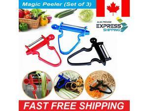 Multifuction Potato Magic Trio Peeler Set of 3, Vegetable and Fruit Peeler LO?