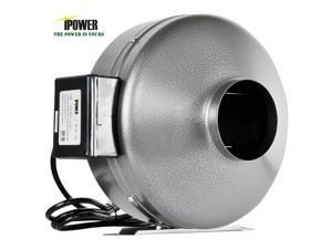 8 Inch Inline Duct Ventilon Fan HVAC Exhaust Blower for Grow Tent