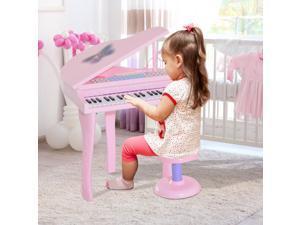 CYBER MONDAY SALE Mini Piano for Children Electronic Organ Keyboard Microphone