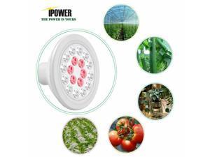 24W 18 LED Hydroponics Indoor Plant Grow Light Bulb Full Spectrum Flower Lamp