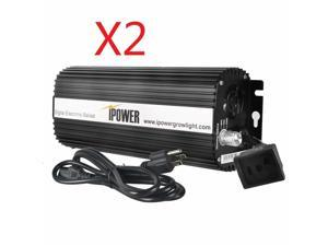 400W Digital Dimmable Electronic Ballast for S MH Grow Light 1/2-Pack