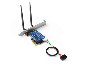 PCI-E High Speed Interface WiFi Bluetooth 4.0 AX 600Mbps Dual Band 5.GHz/2.4GHz PCI-E Wireless WiFi Network Adapter Card For Windows7/8.1/10