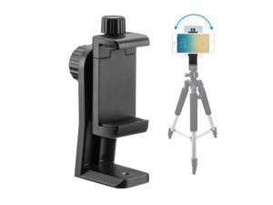 FirstPower Universal Cell Phone Tripod Adapter Holder Smartphone Mount For iPhone X Samsung More Phones Selfie Monopod Adjustable Clamp