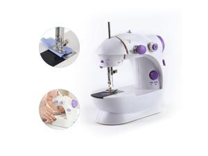 FirstPower Electric Portable Sewing Machine Mini Sewing Machine Desktop Household Tailor 2 Speed Foot Pedal