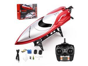 FirstPower 2.4 GHz Remote Control Boat High Speed Rc Boat Racing Boats for Pools and Lakes