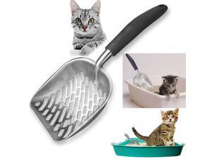 FirstPower Cat Litter Scooper Metal Scoop Sifter Deep Shovel Cleaner Tool Cat litter shovel for Cleaning Box