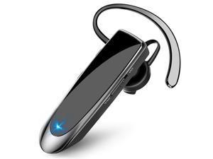 FirstPower Bluetooth 5.0 Headset Trucker Earpiece Noise Cancelling Headphones