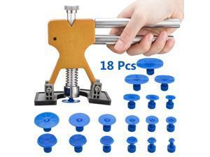 FirstPower Car Paintless Dent Repair Dint Hail Damage Remover Puller Lifter 18 Tab Tool Kit