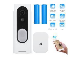 FirstPower Wireless WiFi Video Doorbell Smart Intelligent doorbell Phone Door Ring Intercom Security Camera Bell